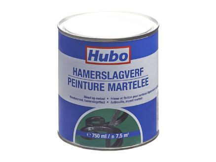 Hubo hamerslagverf 0,75l wit