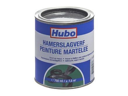 Hubo hamerslagverf 0,75l zwart