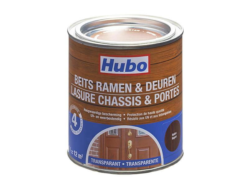 Hubo houtbeits ramen & deuren 0,75l noten