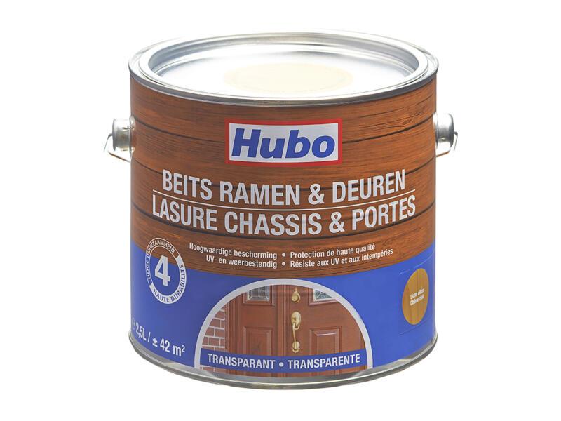 Hubo houtbeits ramen & deuren 2,5l licht eiken