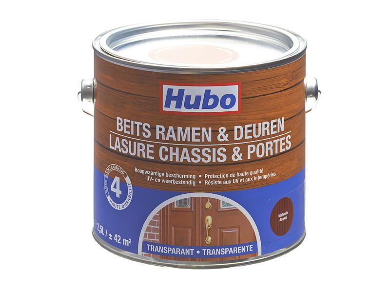 Hubo houtbeits ramen & deuren 2,5l mahonie
