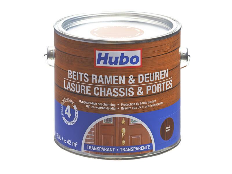 Hubo houtbeits ramen & deuren 2,5l noten