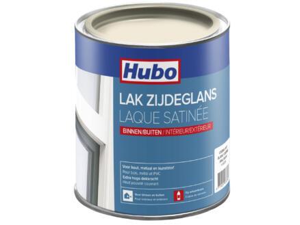 Hubo lak zijdeglans 0,75l crème wit