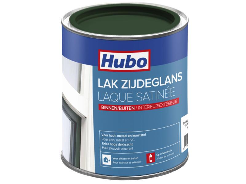 Hubo lak zijdeglans 0,75l donkergroen