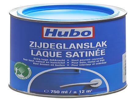 Hubo lak zijdeglans 0,75l helder blauw