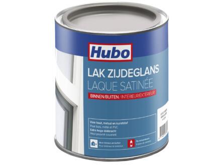 Hubo lak zijdeglans 0,75l lichtgrijs