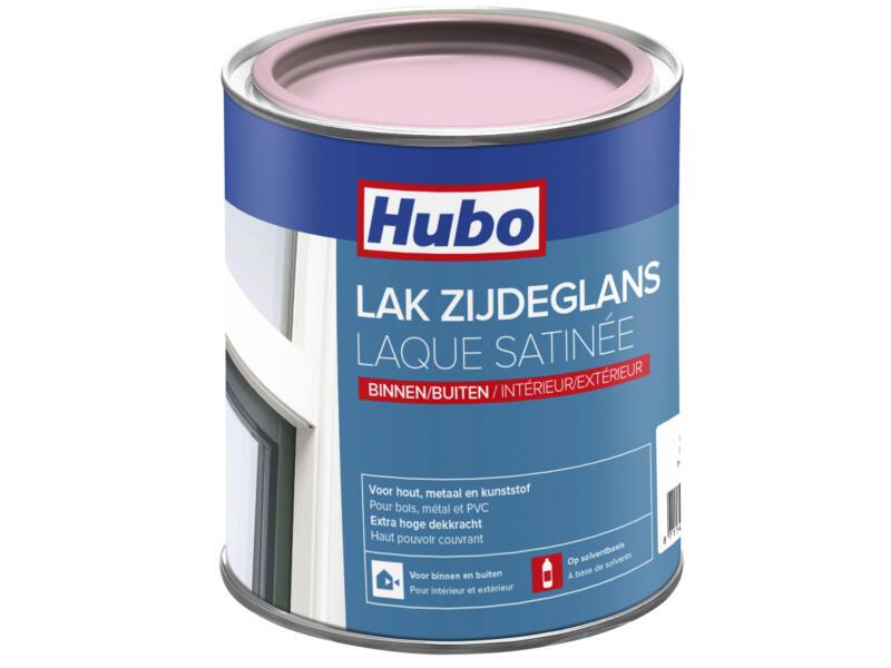 Hubo lak zijdeglans 0,75l roze