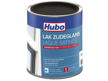 Hubo lak zijdeglans 0,75l wengé bruin