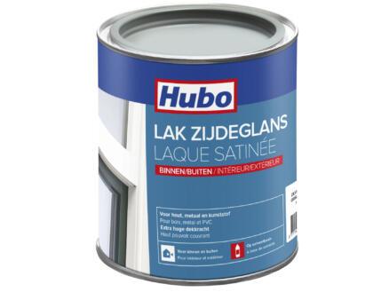 Hubo lak zijdeglans 0,75l zilver grijs