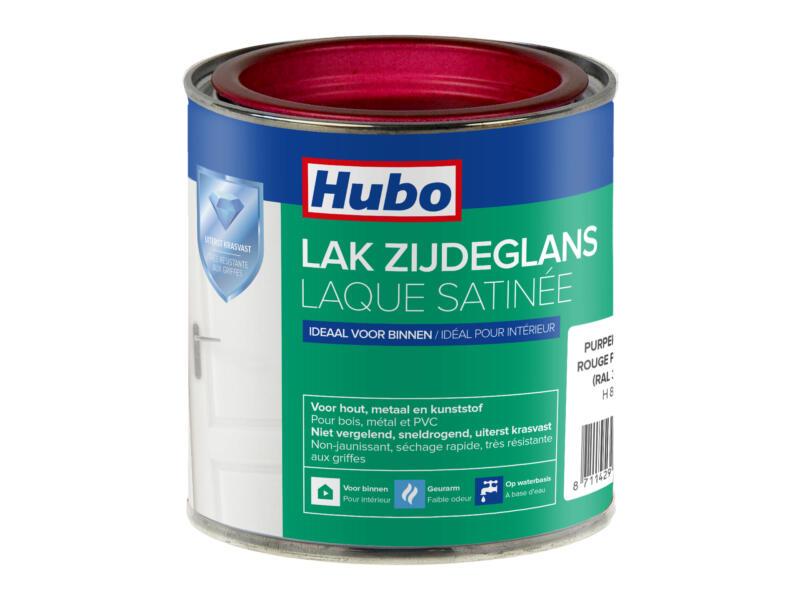 Hubo laque acrylique satin 0,25l rouge pourpre