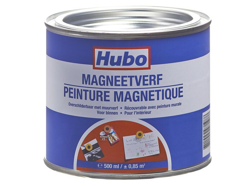Hubo magneetverf 0,5l grijs