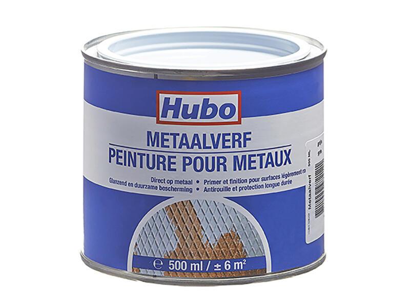Hubo metaalverf 0,5l grijs