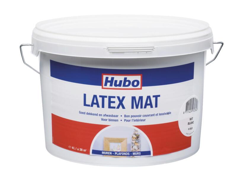Hubo muurverf latex mat 4l wit