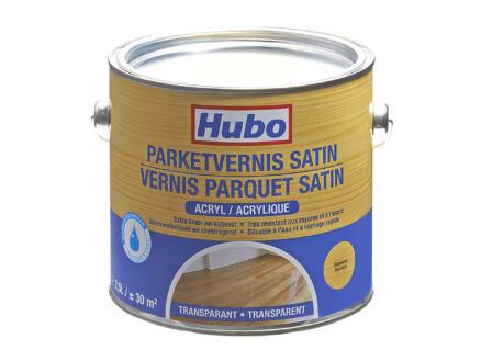 Hubo parketvernis acryl zijdeglans 2,5l transparant