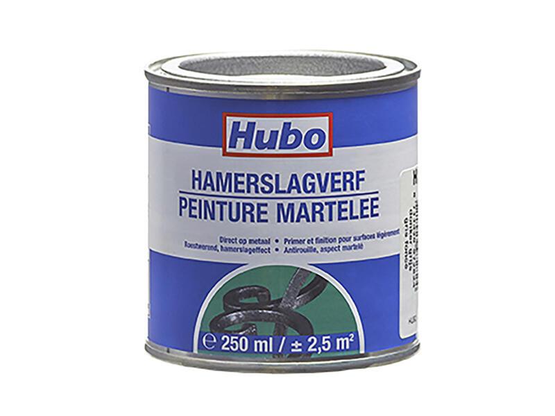 Hubo peinture martelée 0,25l gris foncé