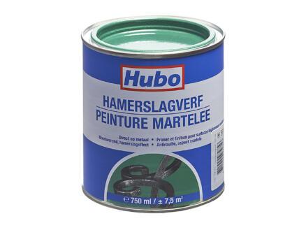 Hubo peinture martelée 0,75l vert foncé