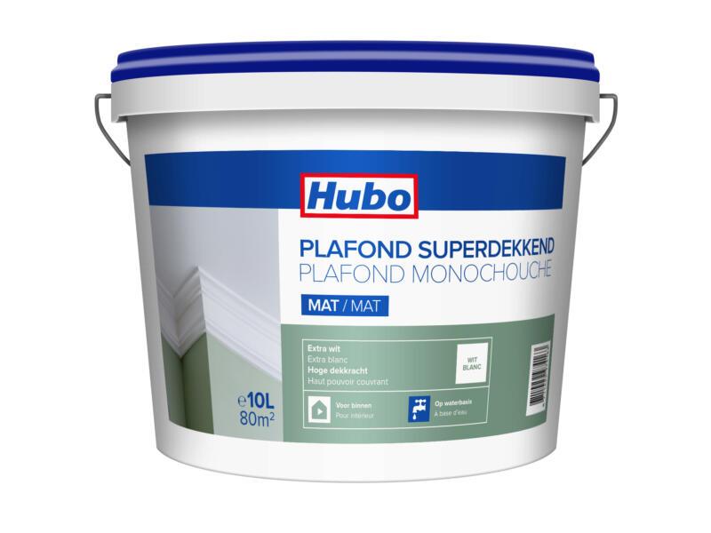Hubo peinture plafond monocouche mat 10l blanc