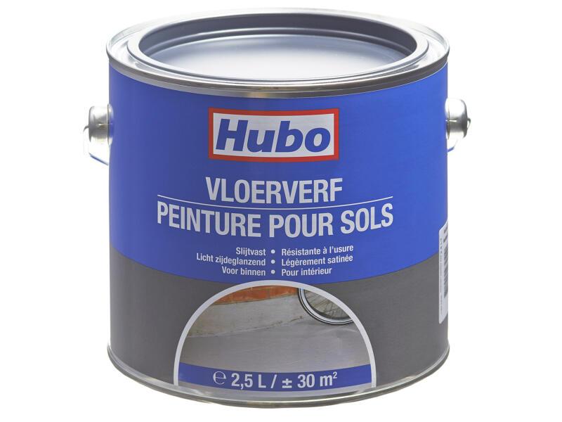 Hubo peinture sol satin 2,5l anthracite
