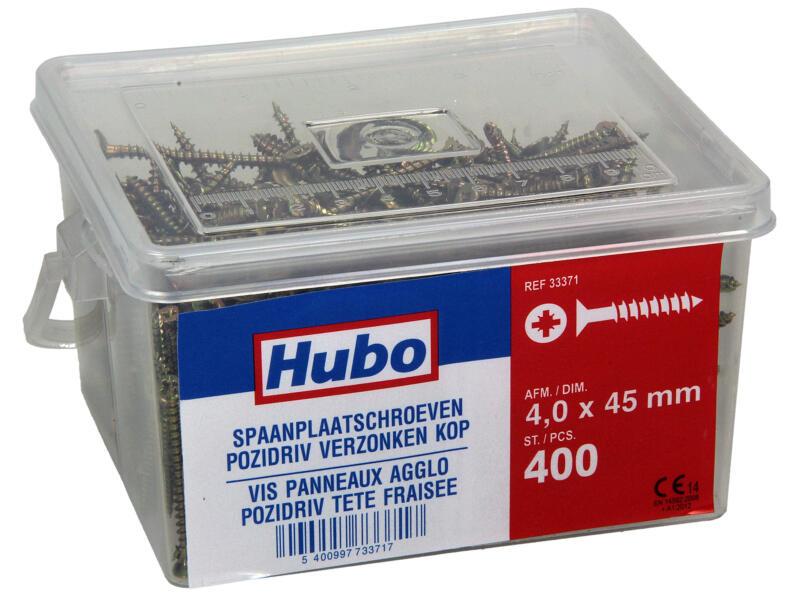 Hubo vis pour aggloméré PZ2 45x4 mm 400 pièces