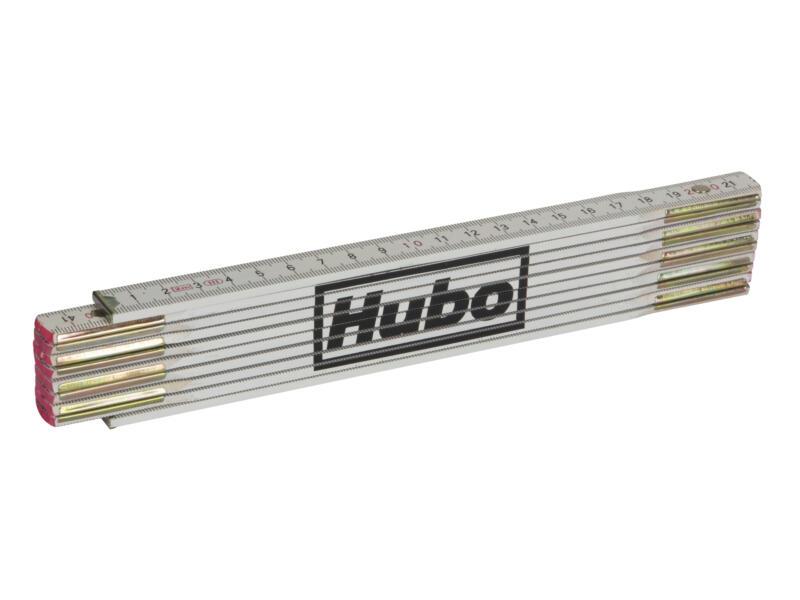 Hubo vouwmeter 2m hout