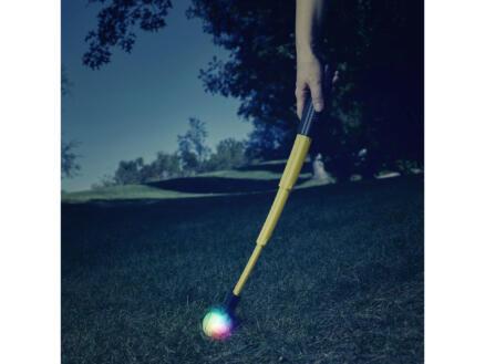 Nite Ize Huck 'N Tuck ballenwerper hond opvouwbaar + GlowStreak LED bal