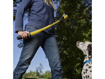 Huck 'N Tuck lance balle pour chien extensible + balle