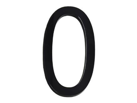 Huisnummer 0 polyester 9cm