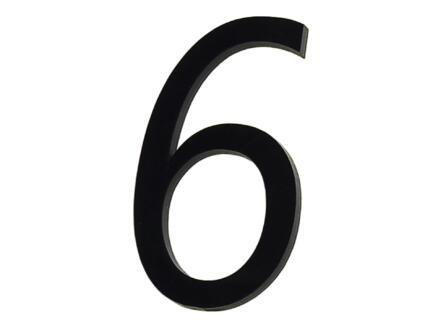 Huisnummer 6 polyester 9cm
