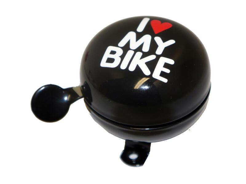 Maxxus I Love My Bike fietsbel 60mm zwart