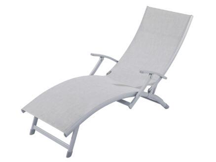 Garden Plus Ibiza bain de soleil mix gris