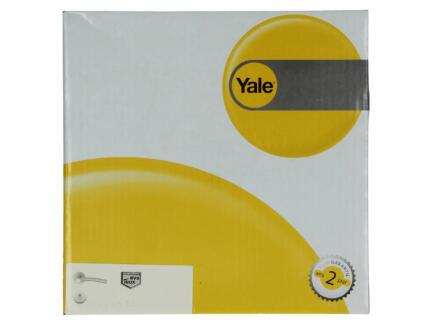 Yale Ibo BB poignée de porte avec rosaces 53mm set complet inox