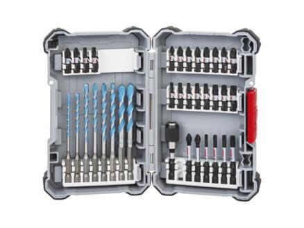 Bosch Professional Impact Control Multi Construction coffret de forets et d'embouts de vissage 35 pièces