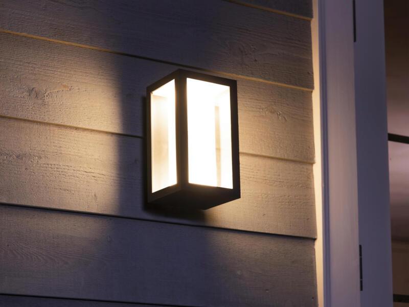 Philips Hue Impress LED wandlamp 8W zwart