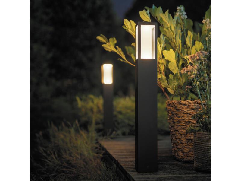 Philips Hue Impress potelet extérieur LED 2x8 W 83cm dimmable noir