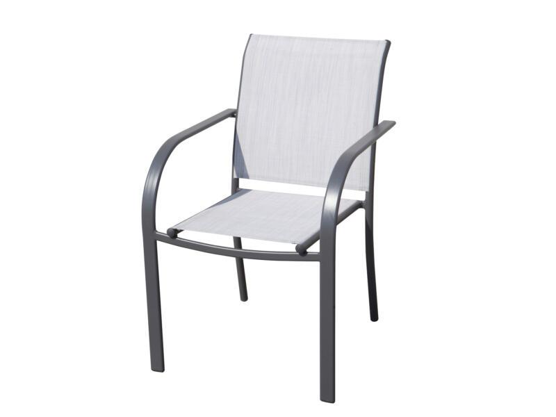 Garden Plus Inca chaise de jardin gris