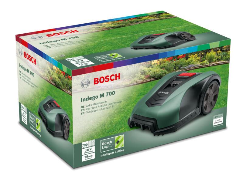 Bosch Indego M+ 700 tondeuse robot 700m² + accessoires