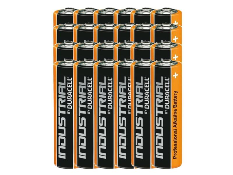 Duracell Industrial batterij alkaline AA 1,5V 24 stuks