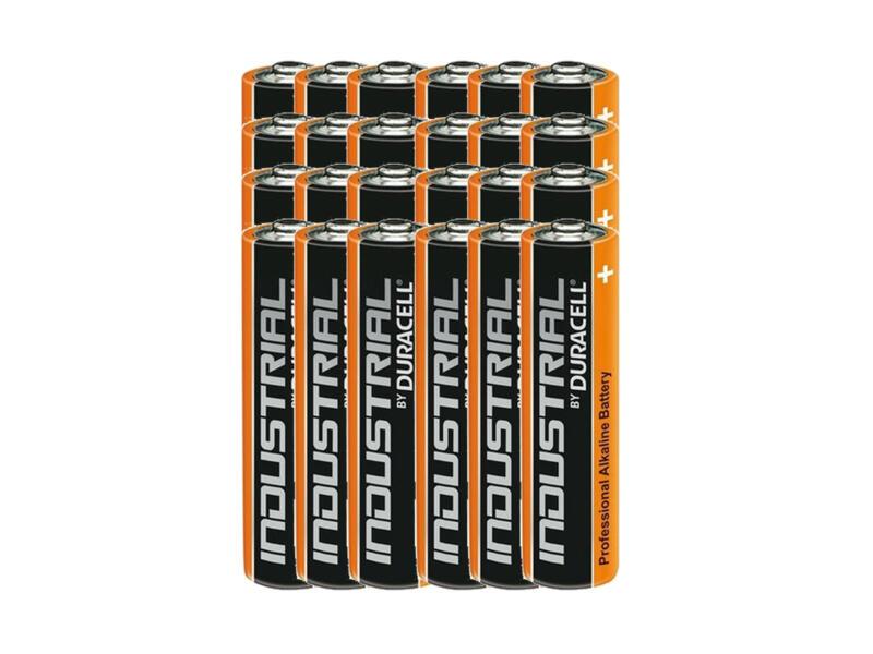 Duracell Industrial batterij alkaline AAA 1,5V 24 stuks