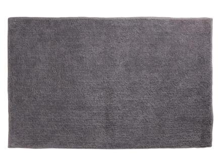 Differnz Initio tapis de bain 80x50 cm gris