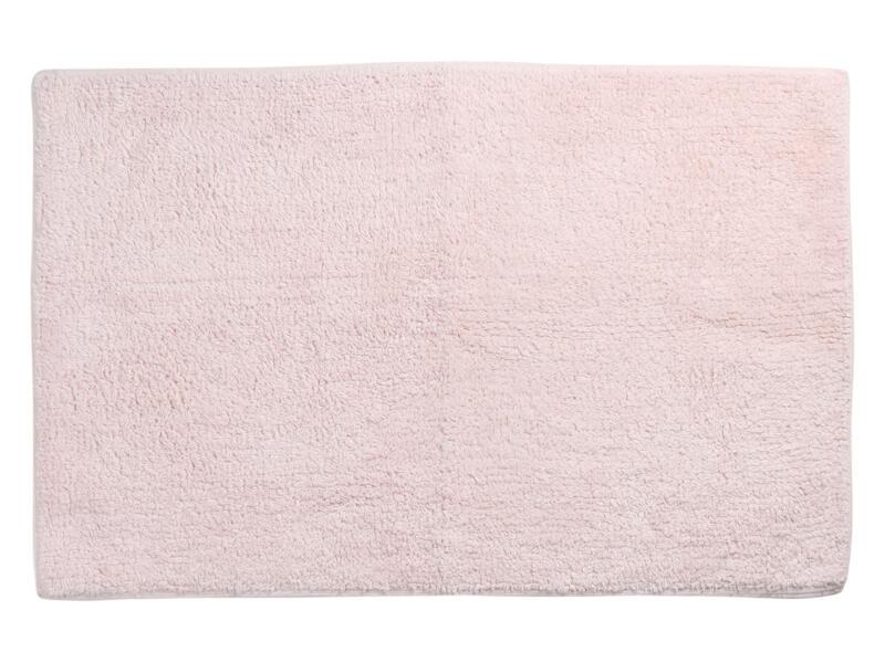 Differnz Initio tapis de bain 80x50 cm rose