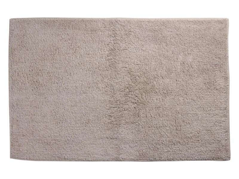 Differnz Initio tapis de bain 80x50 cm taupe