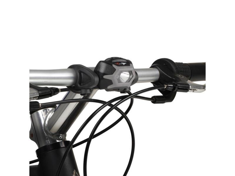 Inova STS lampe de vélo avant/arrière LED blanc/rouge 5 fonctions