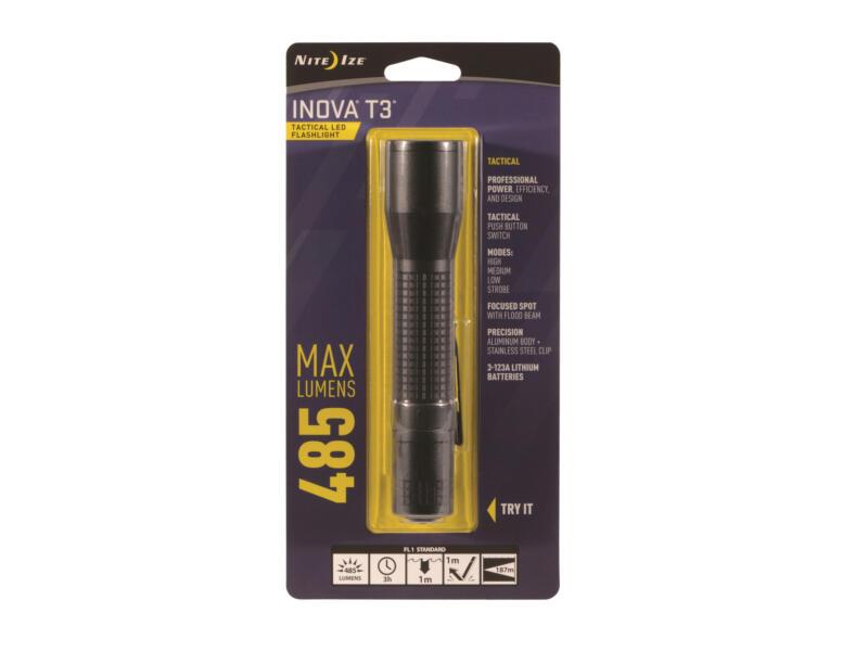 Nite Ize Inova T3 LED zaklamp tactisch zwart