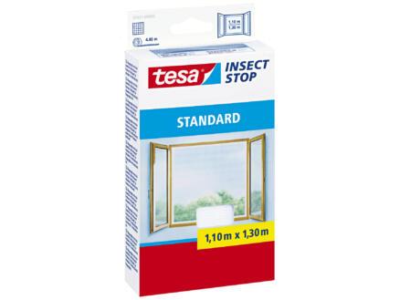 Tesa Insect Stop Standard klittenband ramen 1,1x1,3 m wit