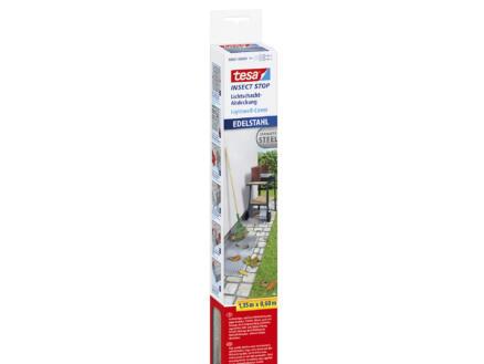 Insect Stop afdekgaas voor kelderrooster 135x60 cm inox
