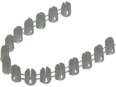 Inslagmoeren 5x10 mm kunststof 16 stuks