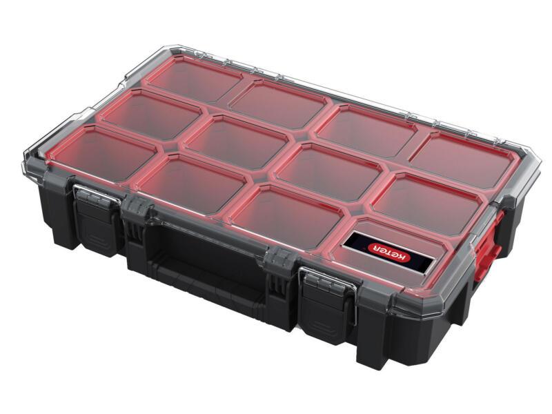 Keter Interlock Deep boîte à compartiments 45,4x29x9,4 cm 10 compartiments