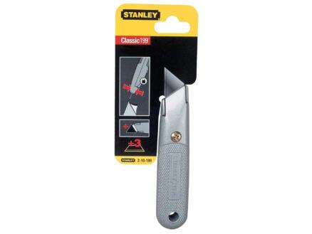 Stanley Interlock couteau professionnel + 3 lames