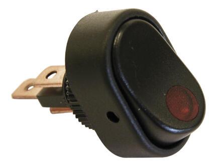 Carpoint Interrupteur LED 12V 30A rouge