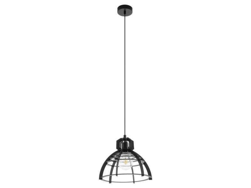 Eglo Ipswich hanglamp E27 max. 60W zwart